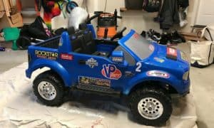 how to modify power wheels to go faster