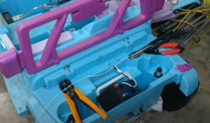 how to convert 12v to 24v power wheels