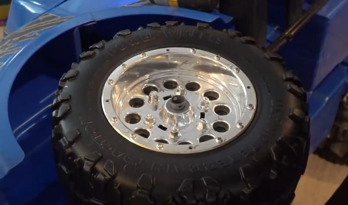 how to replace power wheels tires